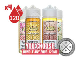 Loaded 480ml E Liquid Bundle (4x120ml)