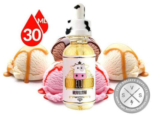 Neapolitan by Moo E-Liquids 30ml