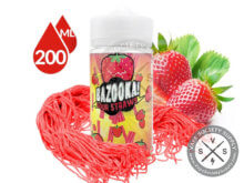 Strawberry Sour Straws by Bazooka Sour Straws 200ml