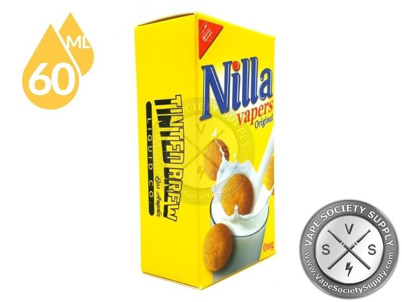 Nilla Vapers E juice by Tinted Brew Co 60ml