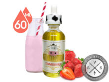 Strawberry Milk by Moo E-Liquids 60ml 🔥$15.99🔥 Using Promo Code EJUICE