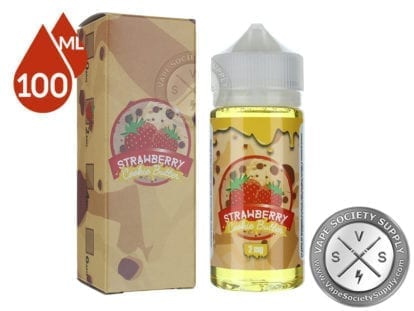 Vaper Treats Strawberry Cookie Butter Ejuice 100ml
